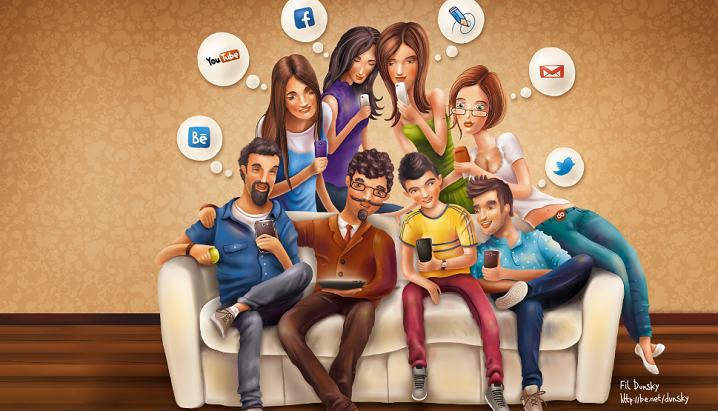 Social media facts 2012