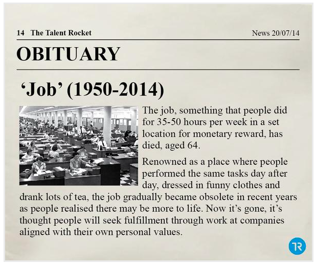 jobs dying out